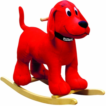 Charm Company Clifford the Big Red Dog Rocker