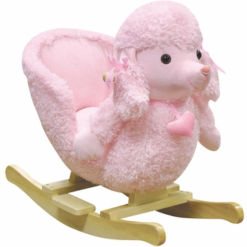 "Charm Company ""Mitzi"" Poodle Rocking Chair"