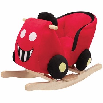 Charm Company Red Car Rocker