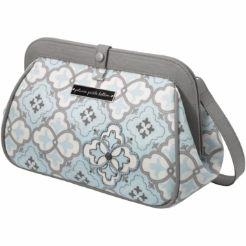 Petunia Pickle Bottom Cross Town Clutch in Classically Crete