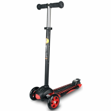 The YBIKE GLX PRO Scooter in Black/Red