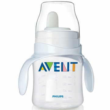 Avent 4 oz Bottle to First Trainer Cup