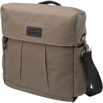 Sons of Trade Nomad Knapsack in Rugged Teak