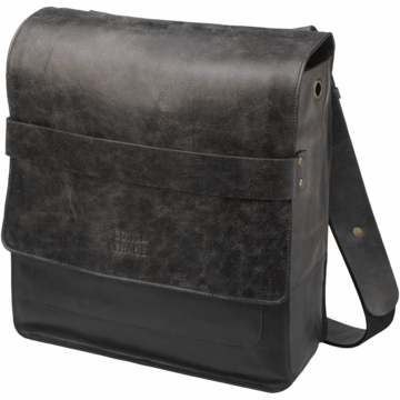 Sons of Trade Rubicon Rucksack in Distressed Black Leather
