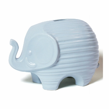 Jonathan Adler Elephant Bank - Light Blue