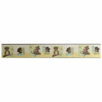 Bedtime Originals Honey Bear Wallpaper Border