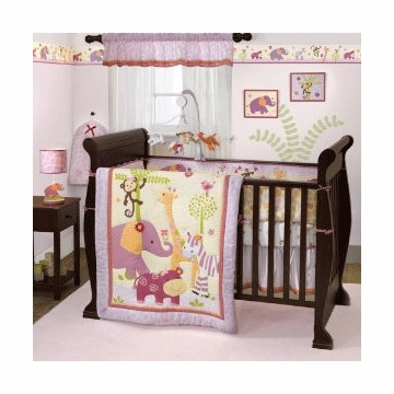 Bedtime Originals Lil' Friends 3 Piece Crib Bedding Set