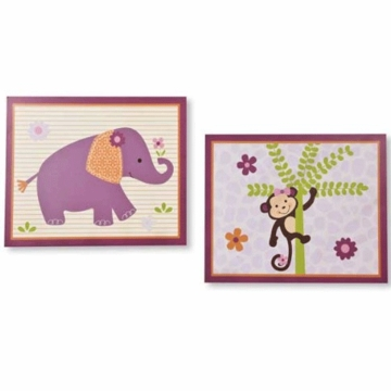 Bedtime Originals Lil' Friends Wall Decor