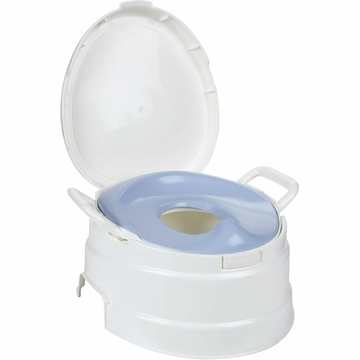 Primo 4-in-1 Soft Seat Toilet Trainer + Step Stool - White