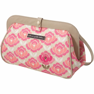 Petunia Pickle Bottom Cross Town Clutch in Flowering Firenze