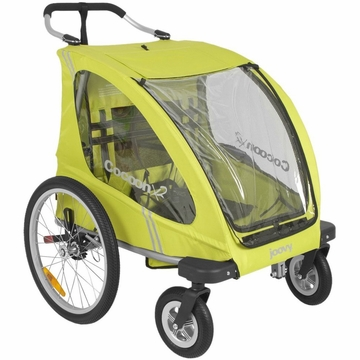 Joovy Cocoon X2 in Greenie