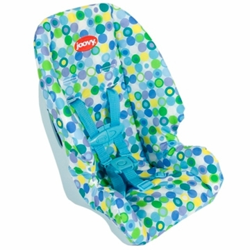 Joovy Toy Booster Carseat in Blue Dot