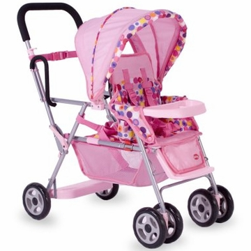 Joovy Toy Caboose in Pink Dot