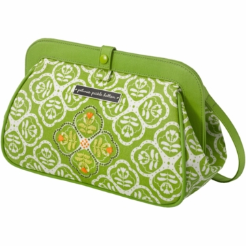 Petunia Pickle Bottom Cross Town Clutch in Gardens in Glasgow