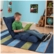 KidKraft Adjustable Lounger Denim