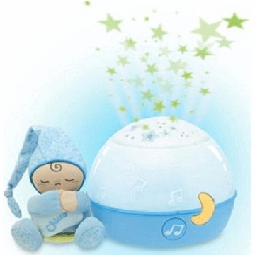 "Chicco ""First Dreams"" GoodNight Stars Projector - Blue"