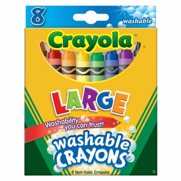 Crayola Large Washable Crayons