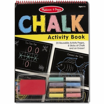 Melissa & Doug Chalk Activity Book