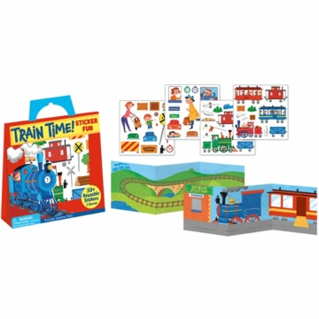 Peaceable Kingdom Train Time! Sticker Pack