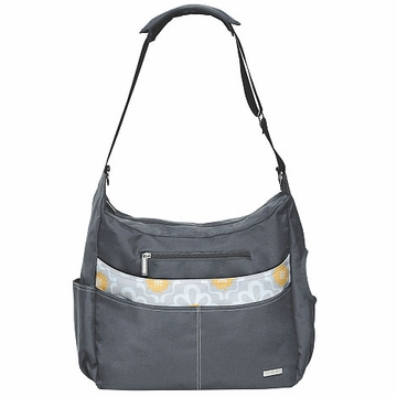 JJ Cole Prime Diaper Bag - Lemon Posy