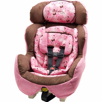 The First Years True Fit Convertible Car Seat - Butterfly