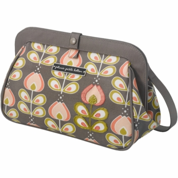 Petunia Pickle Bottom Cross Town Clutch in Olso in Bloom