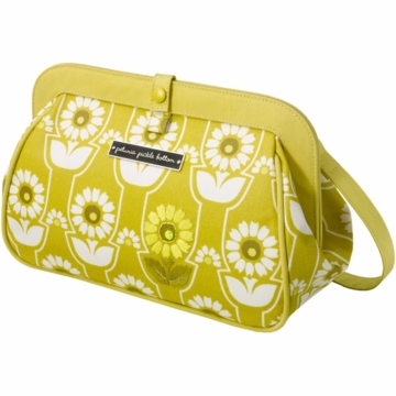Petunia Pickle Bottom Cross Town Clutch in Sunlit Stockholm