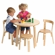 Svan Play With Me Table And Chair Sets in Natural