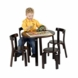 Svan Play With Me Table And Chair Sets in Espresso