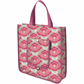 Petunia Pickle Bottom Reusable Shopper Tote in Flowering Firenze