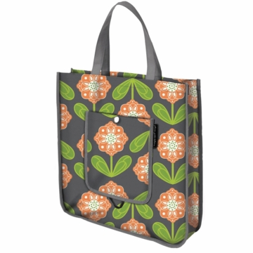 Petunia Pickle Bottom Reusable Shopper Tote Santiago Sunset