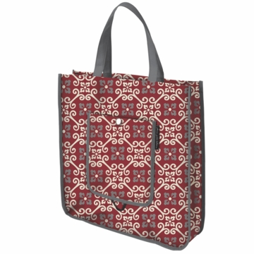 Petunia Pickle Bottom Reusable Shopper Tote Travel Through Tivoli