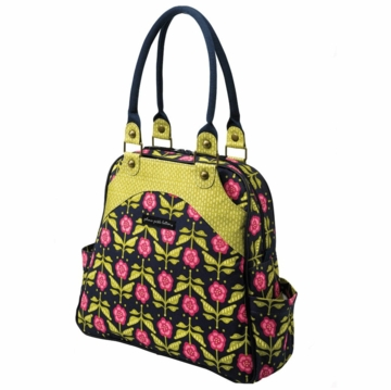 Petunia Pickle Bottom Sashay Satchel Calming Cosmos