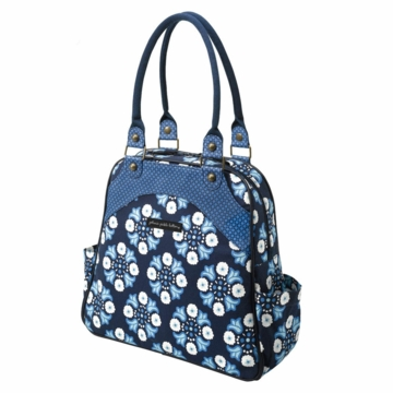 Petunia Pickle Bottom Sashay Satchel Classic Cornflower