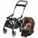 Graco SnugRide Click Connect Infant Car Seat and Frame Bundle - Tangerine