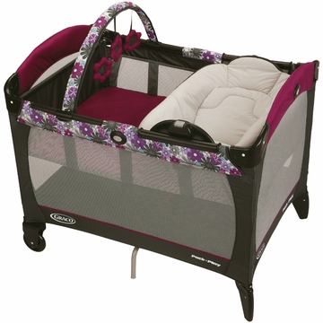 Graco Pack 'N Play Playard with Reversible Napper and Changer - Portia