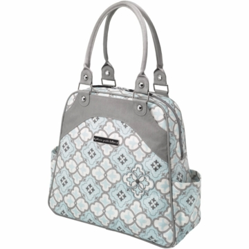 Petunia Pickle Bottom Sashay Satchel in Classically Crete