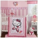 Bedtime Originals Hello Kitty Ballerina 3 Piece Crib Bedding Set