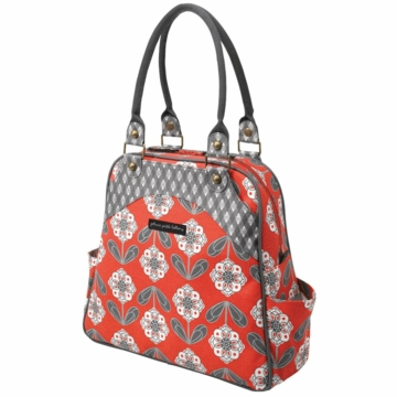 Petunia Pickle Bottom Sashay Satchel Delightful Dahlia