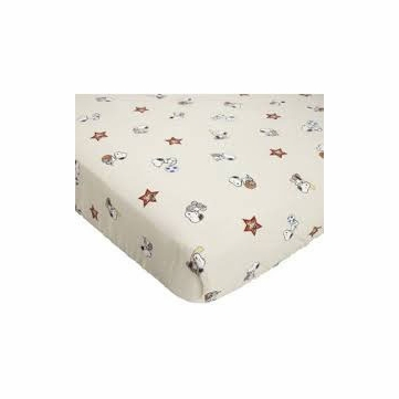 Bedtime Originals Champ Snoopy Crib Sheet