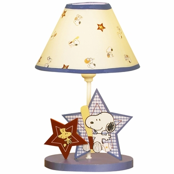 Bedtime Originals Champ Snoopy Lamp with Shade