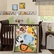 Bedtime Originals Jungle Buddies 3 Piece Crib Bedding Set