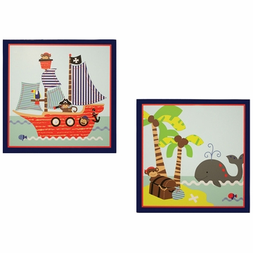 Bedtime Originals Treasure Island Wall D�cor