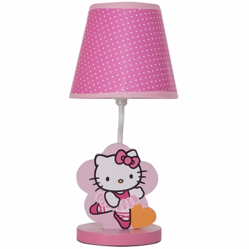 Bedtime Originals Hello Kitty Ballerina Lamp with Shade