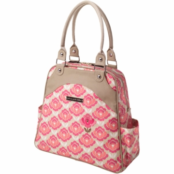 Petunia Pickle Bottom Sashay Satchel in Flowering Firenze