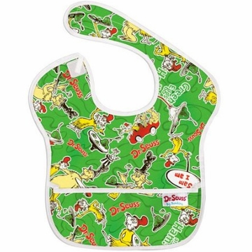 Bumkins Waterproof SuperBib - Green Eggs & Ham