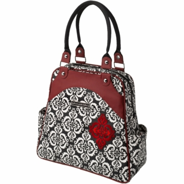 Petunia Pickle Bottom Sashay Satchel in Frolicking in Fez