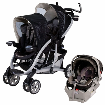 Graco Quattro Tour Duo Travel System - Flint