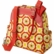 Petunia Pickle Bottom Organic Cotton Sashay Satchel in Marigold Medallions