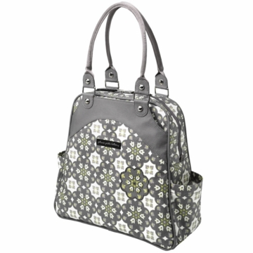 Petunia Pickle Bottom Sashay Satchel Misted Marseille